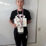 Марко ниже успехе на разним атлетским такмичењима у скоку у даљ